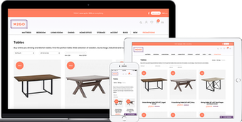 Fully integrated e-commerce
