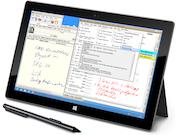 PineBelt EHR on Windows 8 surface pro