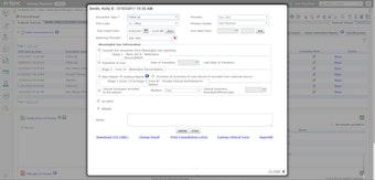 Patient consultation information