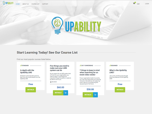 Sell courses