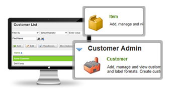 Customer admin
