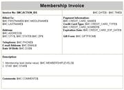 xCatalyst - Membership invoicing