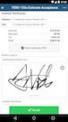 Mobile app e-signatures