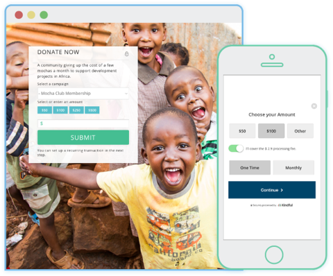 Mobile donations