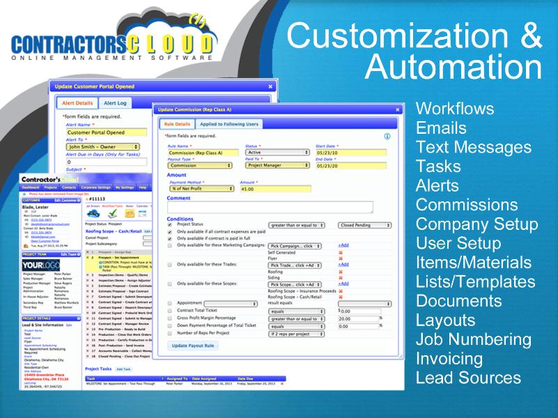 Customization and automation