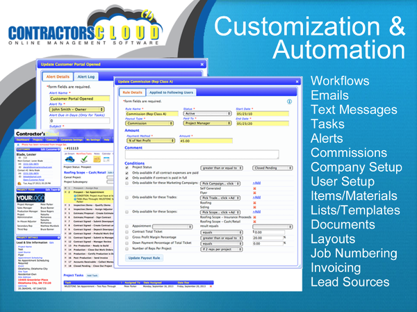 Customization and automation