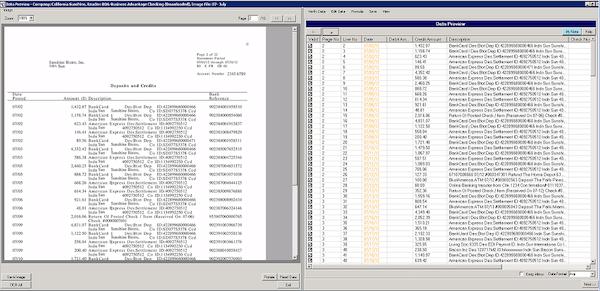 QuickBooks import/export