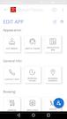 Mobile app editing