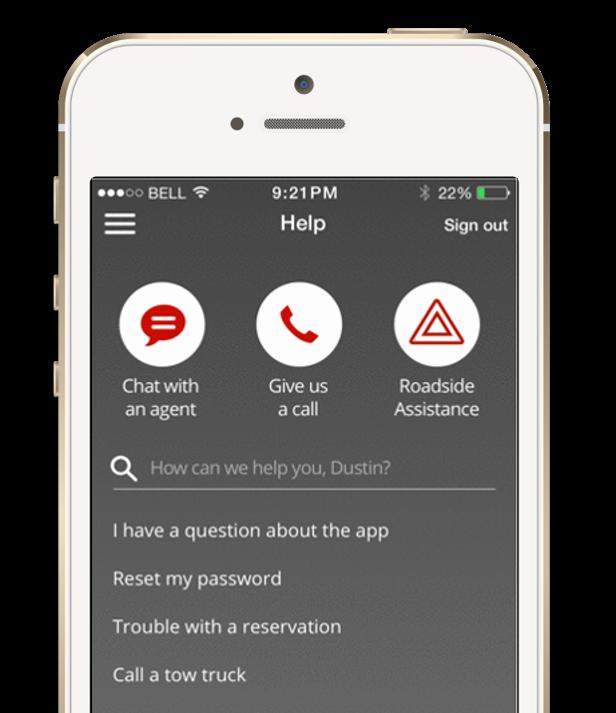 Branded app integration