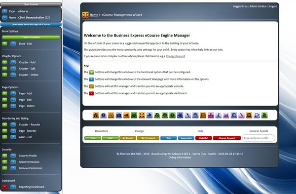 bxp software - Course management