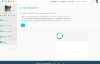 Set up donations