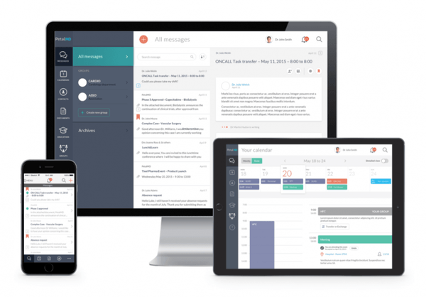 Physician dashboard
