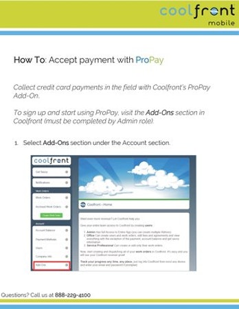 Payments with PayPro