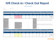 IVR check-in / check-out