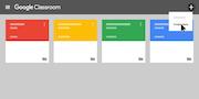 Google Classroom - Create class