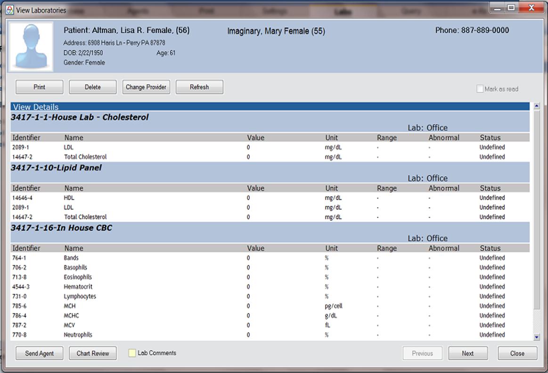 Praxis EMR - Lab interfaces