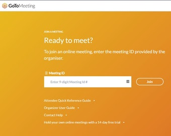Enter meeting