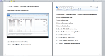 Task recorder in AX