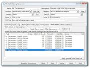 Edit equipment window