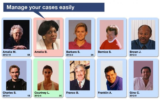 Manage cases