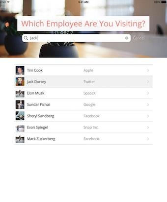 Select employee