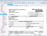 Magaya Cargo System - Warehouse receipt