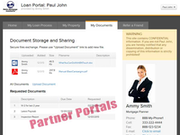 Partner portals (RE brokers, lenders etc.)