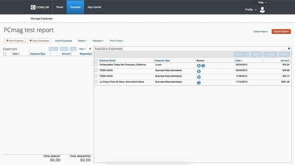 Concur Software - 2019 Reviews, Pricing & Demo