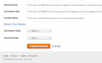 Broadcast options