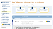 PayPal - Set up account