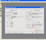 Job entry screen
