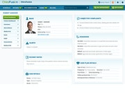 ChiroFusion clinical dashboard