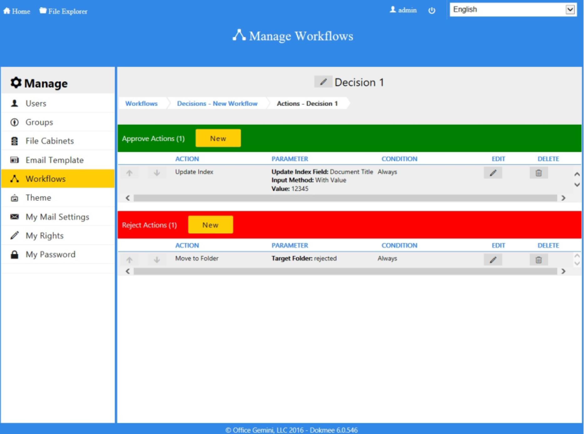 Dokmee - Manage workflows