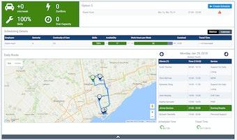 Schedule & Route optimization