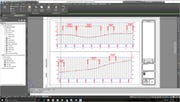 AutoCAD - Plan and profile sheet