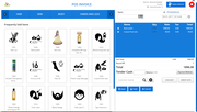RetailBeanLite - Cloud POS screen