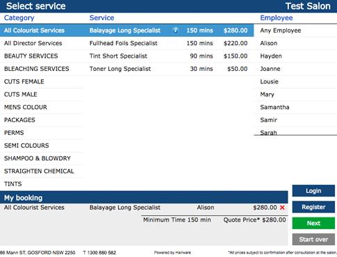 Select service
