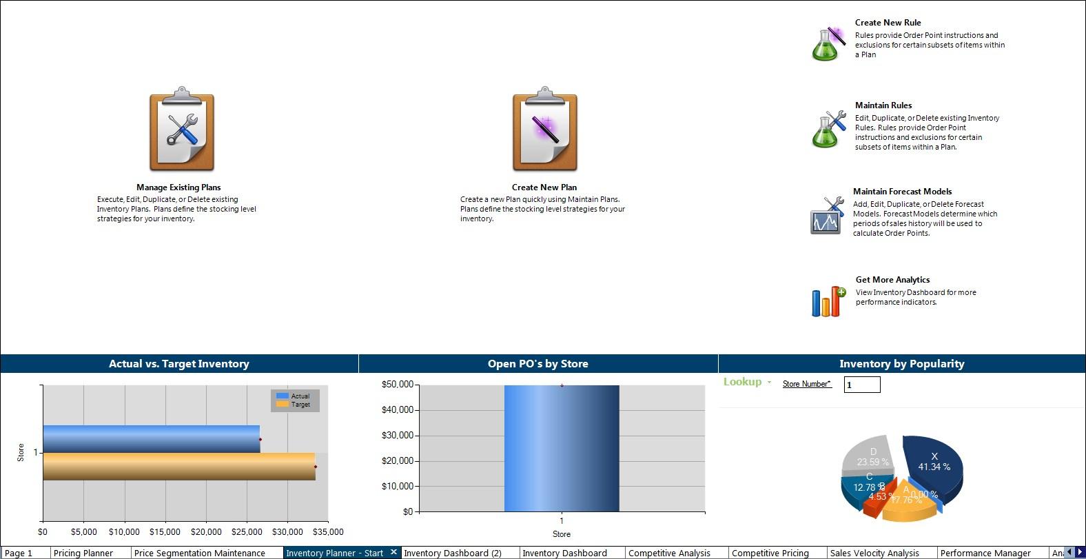 EagleNSeries - Inventory planner