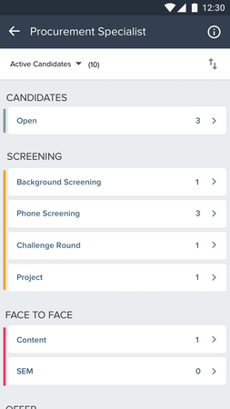 Mobile screening