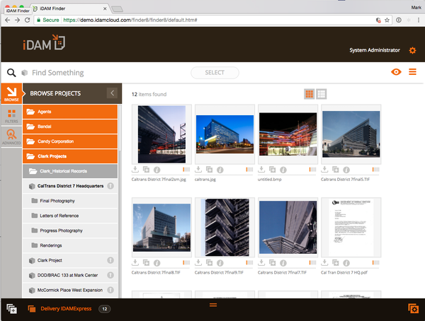 Browse projects