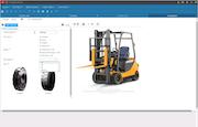 Forklift configurations