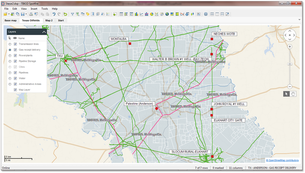 Spotfire 6.0 - advanced mapping