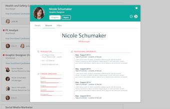 Progress/reject resume