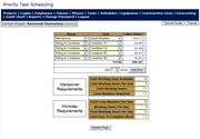 Forecasting page