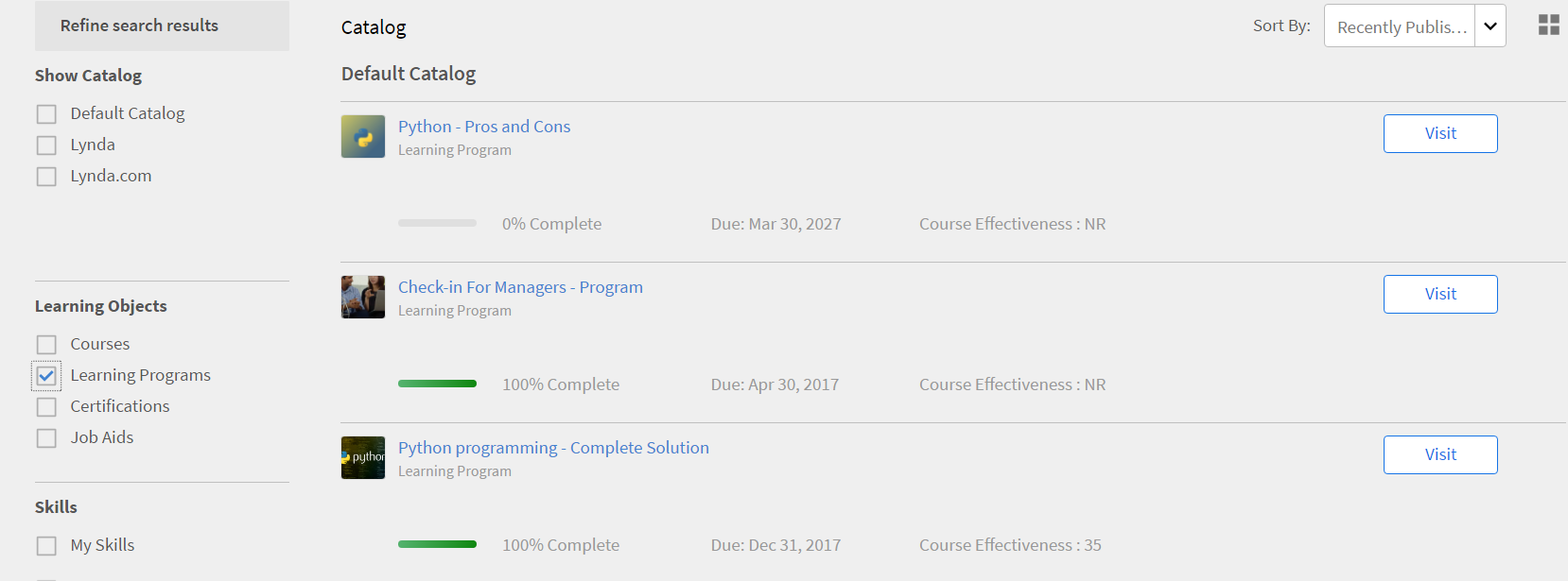 Adobe Captivate Prime - Adobe Captivate Prime - Learning programs