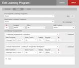 Edit learning program