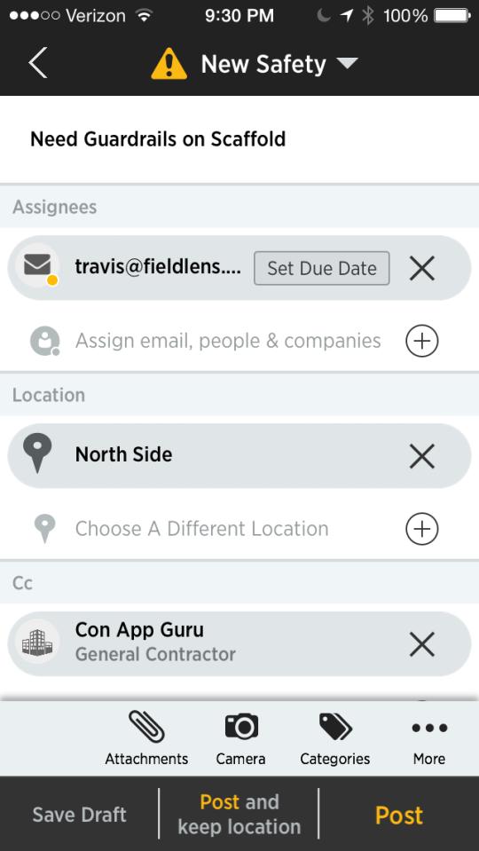Mobile App review Display
