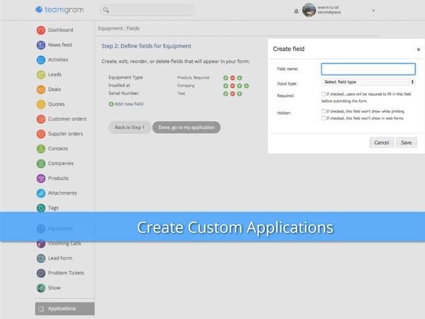 Create custom app