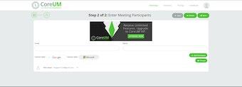 Enter meeting participants