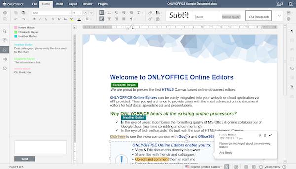 Collaborative editing